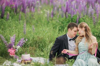 Люпиновое поле: история любви Лины и Андрея