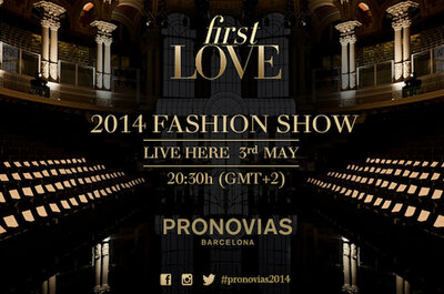 Live from Barcelona, The Pronovias Spring 2014 Bridal Runway Show
