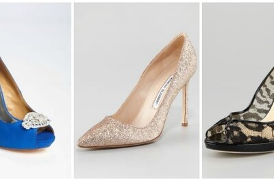 3 Stunning Wedding Shoe Styles & Trends for 2013