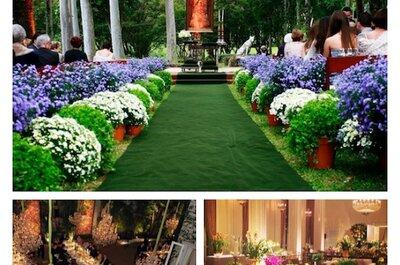 Inspiração para a decoração do seu casamento:  Top decoradores de São Paulo