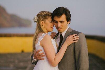 Vote no seu Real Wedding favorito do mês de Fevereiro, o mês do amor!