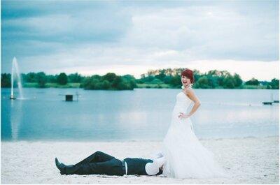 Hochzeit der Woche – fotografiert von Dominik Peter!