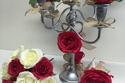 Ambiance chic et florale,  sublimez la décoration de votre mariage avec Athea's Creation
