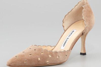 Zapatos de novia Manolo Blahnik 2017. ¡Modelos exclusivos para lucir tus pies!