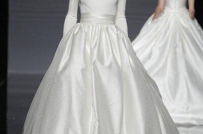 Colección de vestidos de novia Rosa Clará 2014