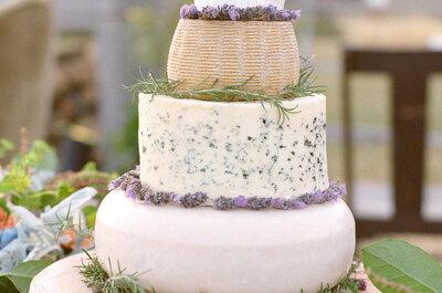El pastel ahora es de queso: La tendencia que está cambiando la escena nupcial