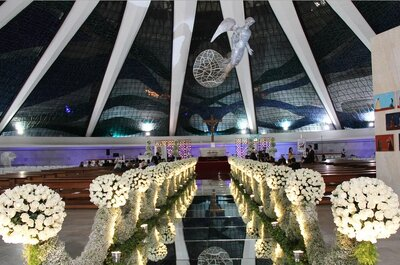 Os 6 decoradores de casamento de Brasília mais requisitados: personalização e beleza!