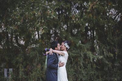 Dos pedidas y una boda: el gran día de Ana y Pablo