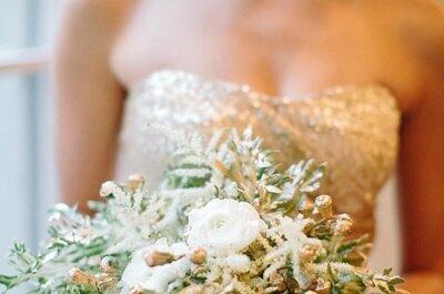 Oro come trionfo, per dettagli di nozze in trionfo d'oro!
