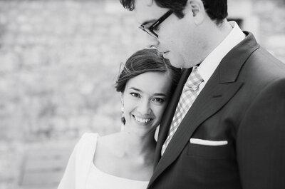 Un amor aventurero y a primera vista: la boda de Myriam y Rafael