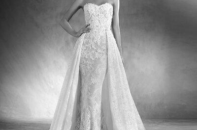 Os 50 vestidos de noiva mais deslumbrantes da coleção Pronovias 2017