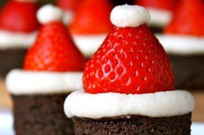 Boda temática: cupcakes de Navidad