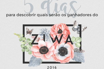 Só faltam 5 dias para que finalize ZIWA 2016: você já votou?