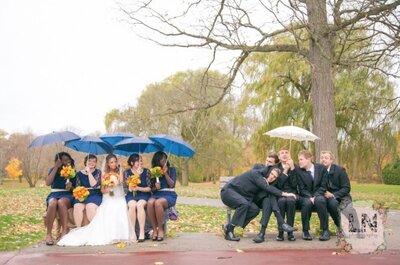 Un mariage sous la pluie ? Conseils pour que le plan B ne perturbe pas toute votre organisation