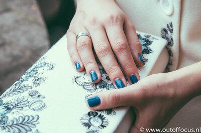 10 verschillende soorten manicuren voor de bruid! Welke past bij jou?