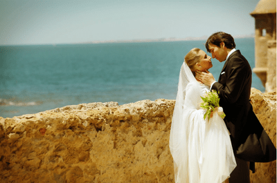 Real Wedding in Spanien: Maria Luisa und Andreas sagten JA im Parador in Cadiz