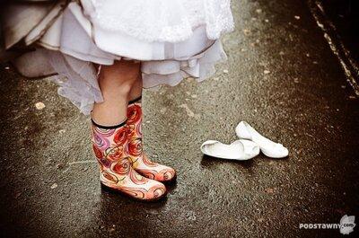 Ślub w deszczu, czyli jak nie dać się deszczowej pogodzie w tym ważnym dniu?
