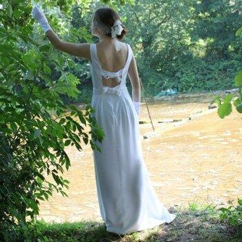 Des robes de mariée sur mesure signées Pascale de Lavernette