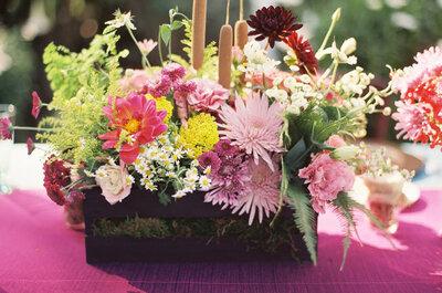 Inspiración e ideas para bodas rústicas