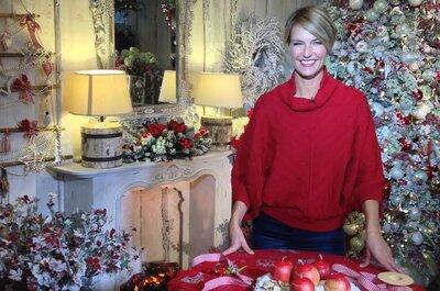Tante idee Green & Glam per decorare il tuo matrimonio natalizio