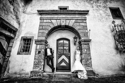 Märchenhochzeit mit Vespa: Jana & Tim sagten im Schloss Herdringen JA!