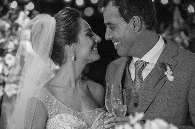 Casamento lindo e inspirador de Anna Edith & Marcello: unidos pelo destino e pelo mesmo time!