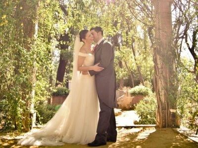 Un día inolvidable y con toques divertidos: la boda de Isabel y Borja