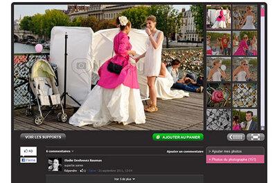 Une galerie photos pour votre mariage ? Facile avec Imagera !