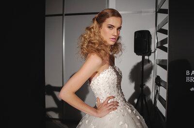 Peinado de novia para mujeres con pelo largo, inspírate con las últimas tendencias 2015