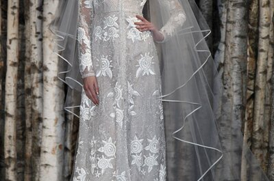 Brautkleider 2015 von Naeem Khan – auf der New York Bridal Week