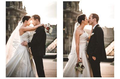 Elodie et Julien : un mariage de contes de fée à la parisienne.