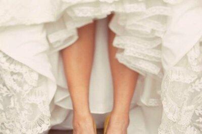 Zapatos de novia para todos los estilos... ¡Justo lo que buscabas!