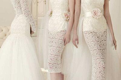 Collezione Emè di Emè 2015: dal classico principesco alla sposa colorata