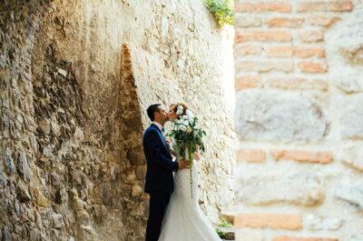 Profumo di olivo e di Australia: le nozze di Stephanie e Federico