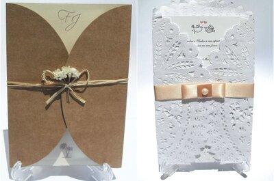 Incríveis, criativos e surpreendentes fornecedores de convites de casamentos do Ceará