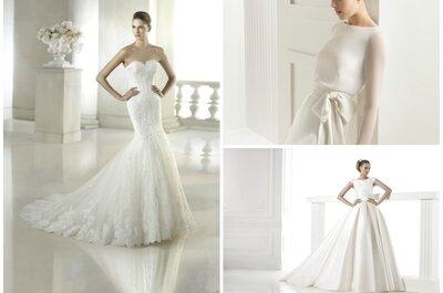 Glamouröse Brautkleider für eine elegante Hochzeit 2015