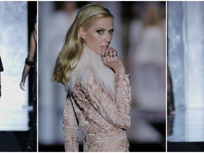 Las grandes modelos de los 90 desfilan para Duyos presentando su colección otoño-invierno 2017-2018