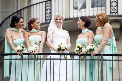 Was tragen die Brautjungfern 2016 in der Schweiz? Samyra Fashion verrät's!
