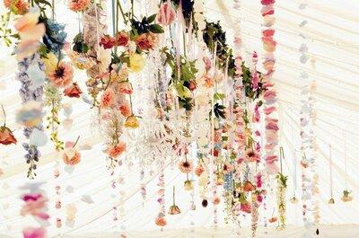 Increíbles decorados colgantes para tu boda