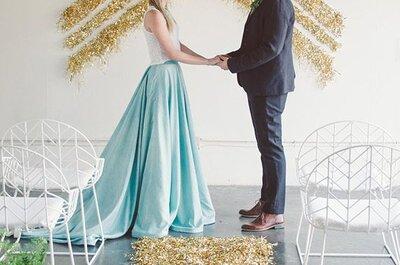 Decoración geométrica el día de tu boda