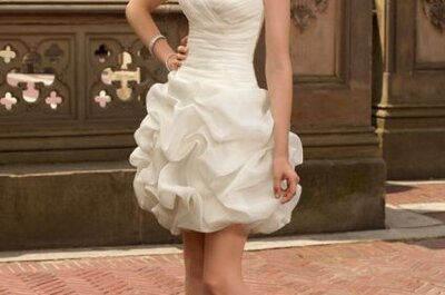 Vestidos de noivas curtos de Mori Lee, coleção 2013
