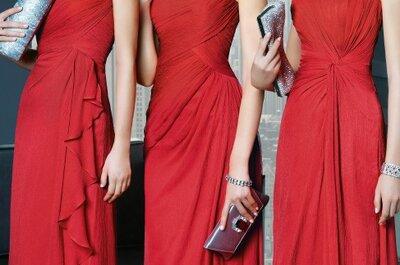 Damas de honor: tendências para o Verão de 2014!