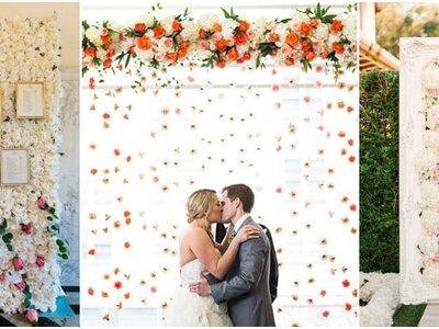 Un giardino verticale per il tuo matrimonio? Lo sfondo perfetto per le tue foto di nozze