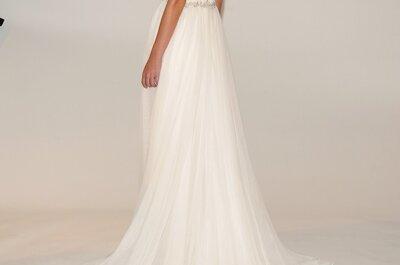 Vestidos de novia encantadores de Marchesa colección otoño 2014