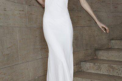Una ninfa con aires de princesa: Vestidos de novia primavera 2015 de Vera Wang