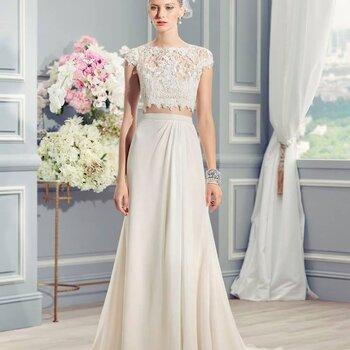 Vestidos de noiva minimalistas para 2016: simples mas elegantes
