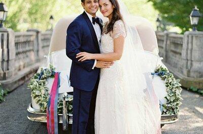 Memorizing Midnight and Mulberry: Sara + Shiv´s Wedding in California