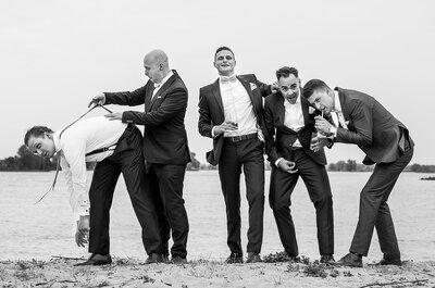 Waarom zwart-wit trouwfoto's het allermooiste zijn!