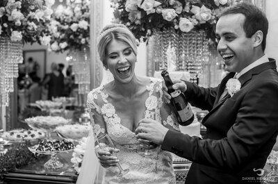 Ana Carolina & Adriano: casamento ao ar livre, ultra romântico e alegre no interior de Minas
