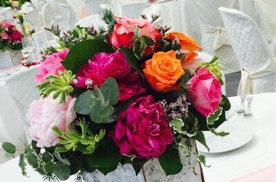 Come personalizzare il tuo matrimonio usando i colori: via libera alla fantasia!